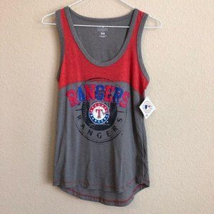 Texas Rangers Tank Top Genuine Merchandise NWT